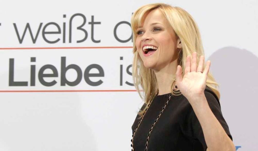 Reese Witherspoon à la première berlinoise du film How do you know? avec Owen Wilson, Jack Nicholson et Paul Rudd.
