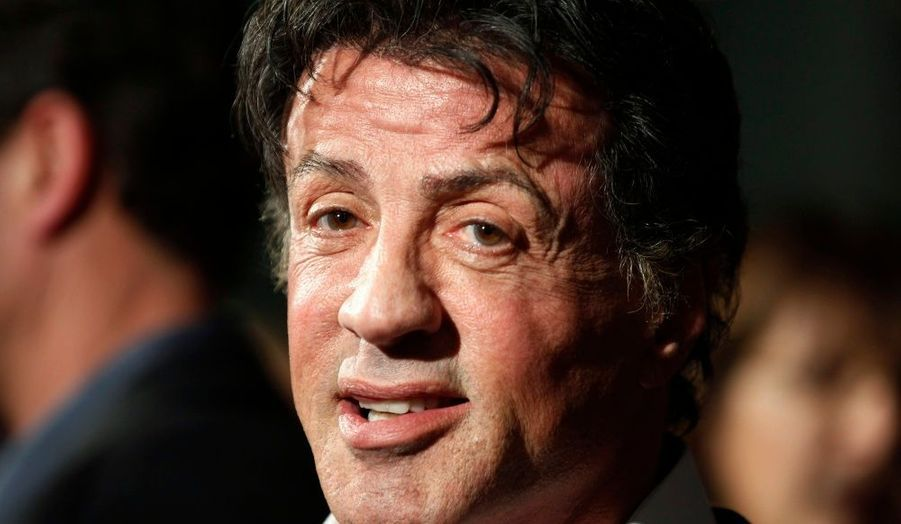 Sylvester Stallone, invité à l'avant-première du film d'action The Mechanic, réalisé par Simon West, à Hollywood.