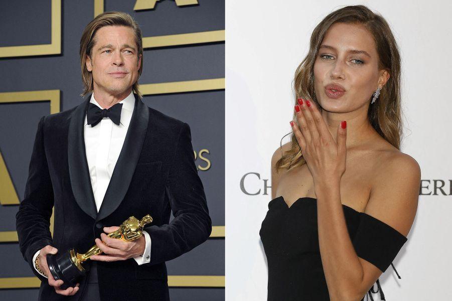 A 56 ans, Brad Pitt a remporté en février 2020 le premier Oscar de sa carrière (meilleur acteur dans un second rôle pour «Once Upon A Time... In Hollywood»). Quelques mois plus tard, sa première romance officielle depuis son divorce d'avec Angelina Jolie était révélée dans la presse. L'acteur a fréquenté le mannequin Nicole Poturalski pendant plusieurs mois jusqu'à leur rupture annoncée en octobre.