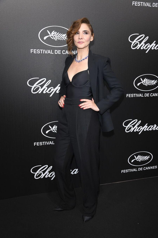 Clotilde Courauà la soirée du Trophée Chopard lors du 72e Festival de Cannes le 20 mai 2019