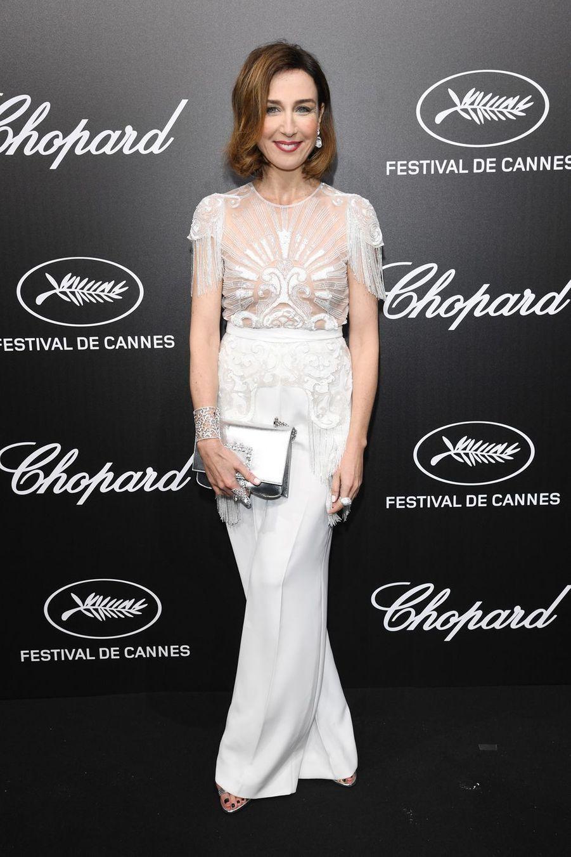 Elsa Zylbersteinà la soirée du Trophée Chopard lors du 72e Festival de Cannes le 20 mai 2019