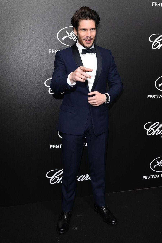 François Civilà la soirée du Trophée Chopard lors du 72e Festival de Cannes le 20 mai 2019