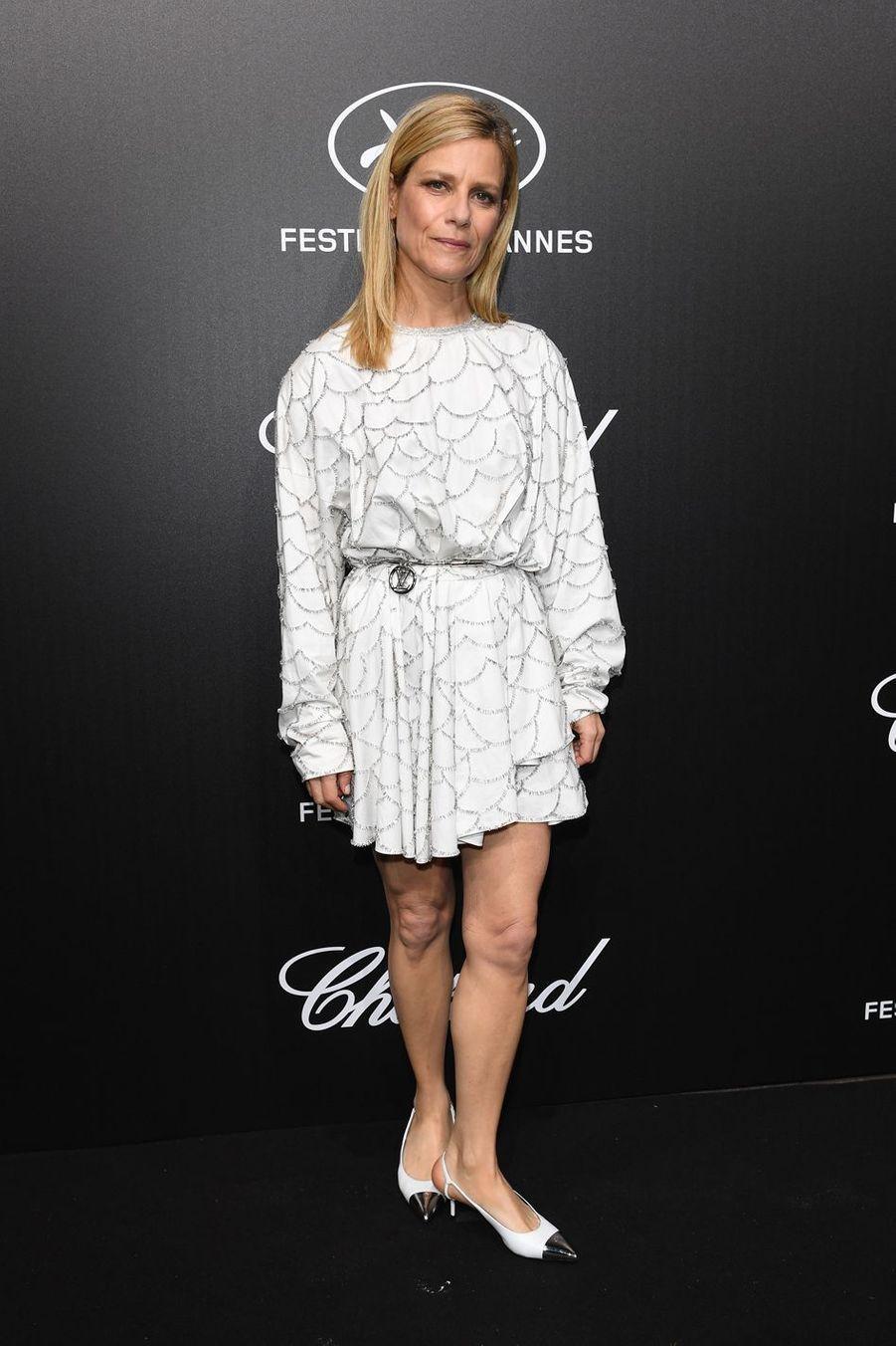 Marina Foïsà la soirée du Trophée Chopard lors du 72e Festival de Cannes le 20 mai 2019