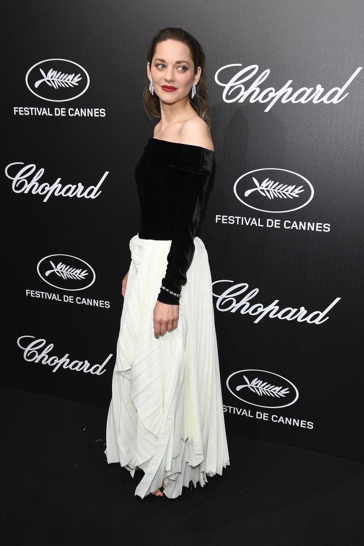 Marion Cotillard à la soirée du Trophée Chopard lors du 72e Festival de Cannes le 20 mai 2019