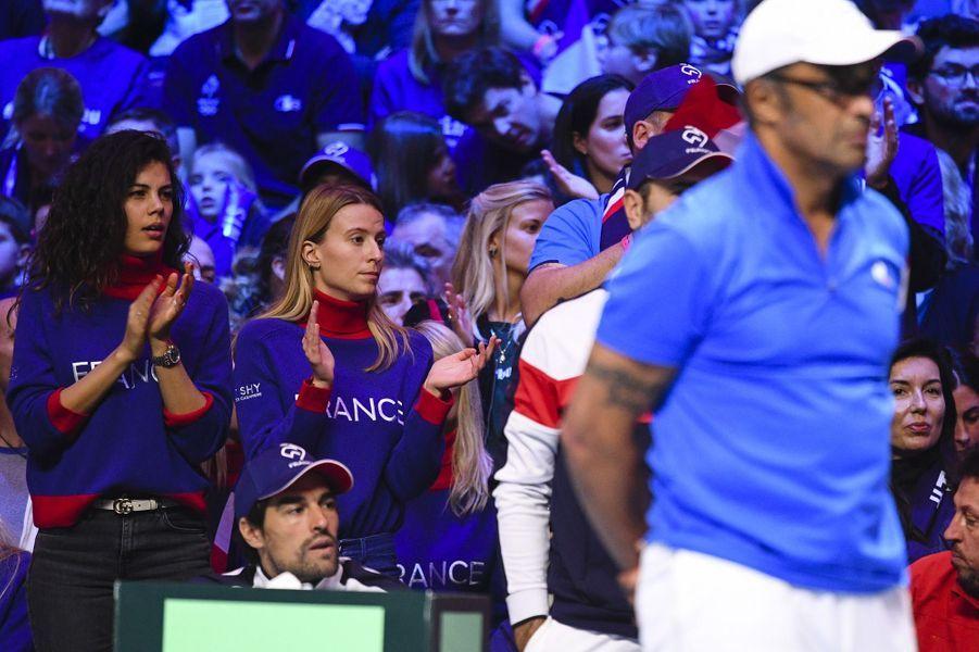 A la Coupe Davis, les joueurs français soutenus par leur clan