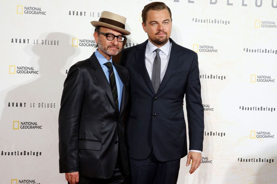 Fisher Stevens et Leonardo DiCaprio.