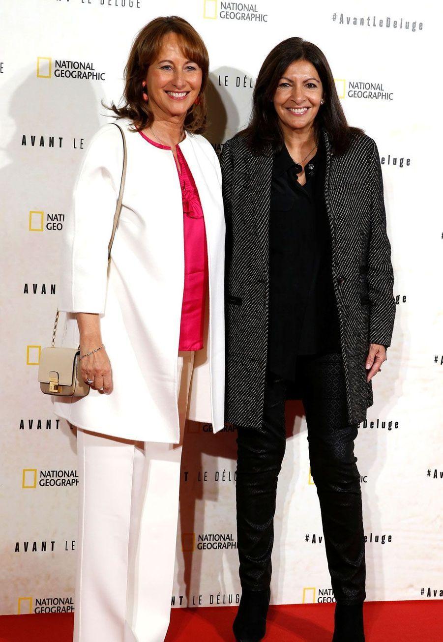 Segolène Royal et Anne Hidalgo.