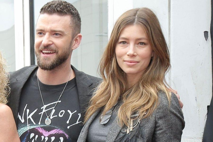 Justin Timberlake et Jessica Biel lundi