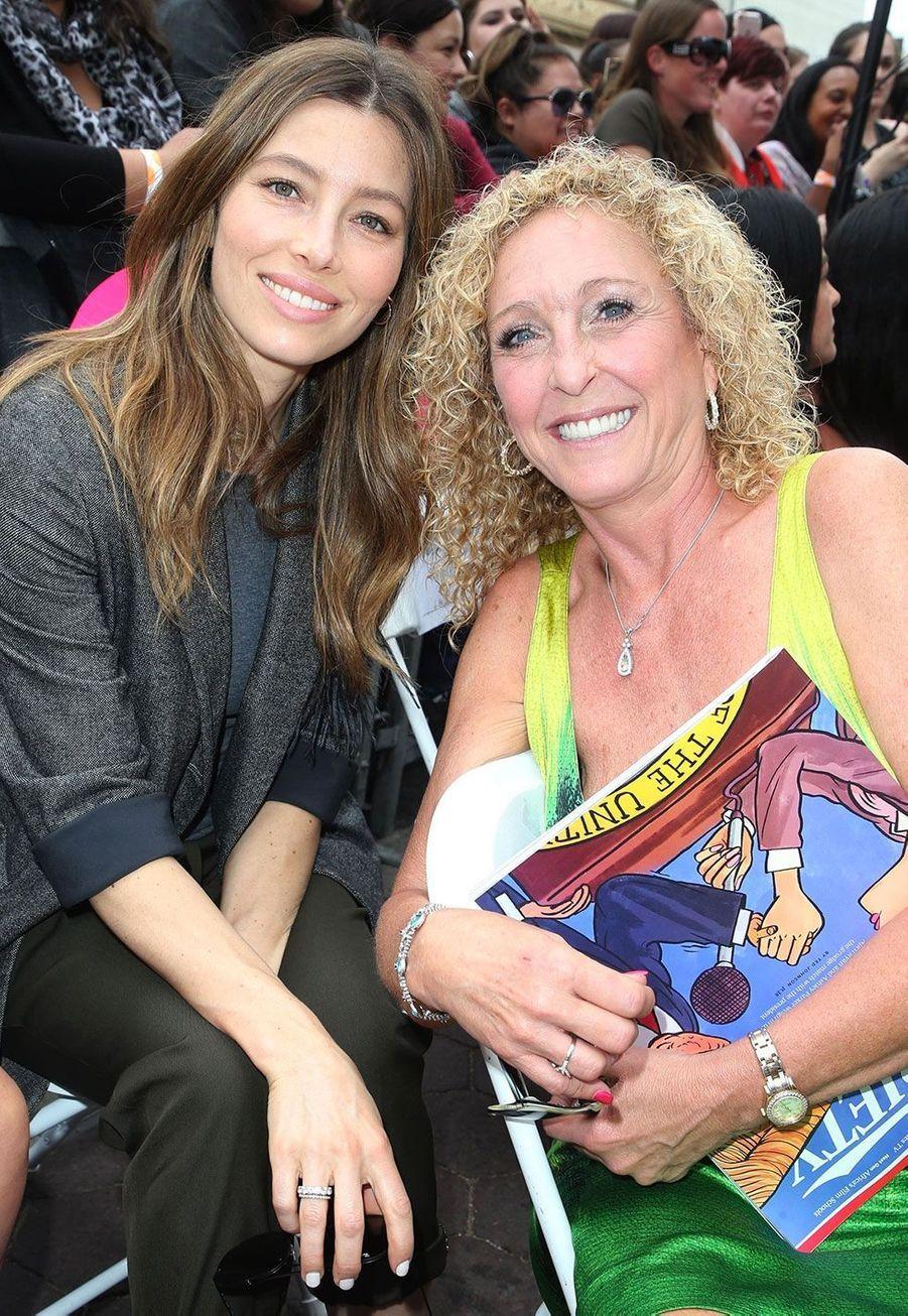 Jessica Biel et sa belle-mèreLynn Harless