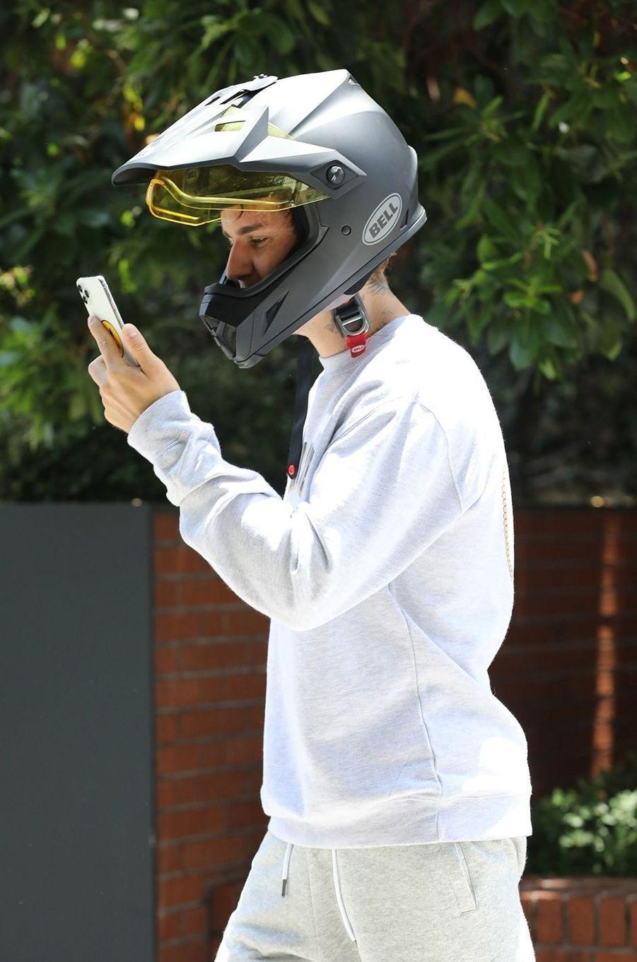 Justin Bieber à Los Angeles le 24 juin 2020