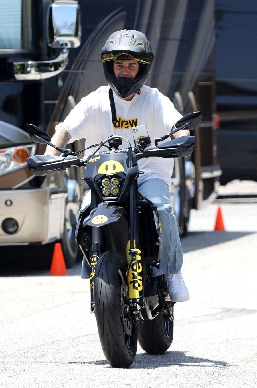 Justin Bieber à Los Angeles le 23 juin 2020