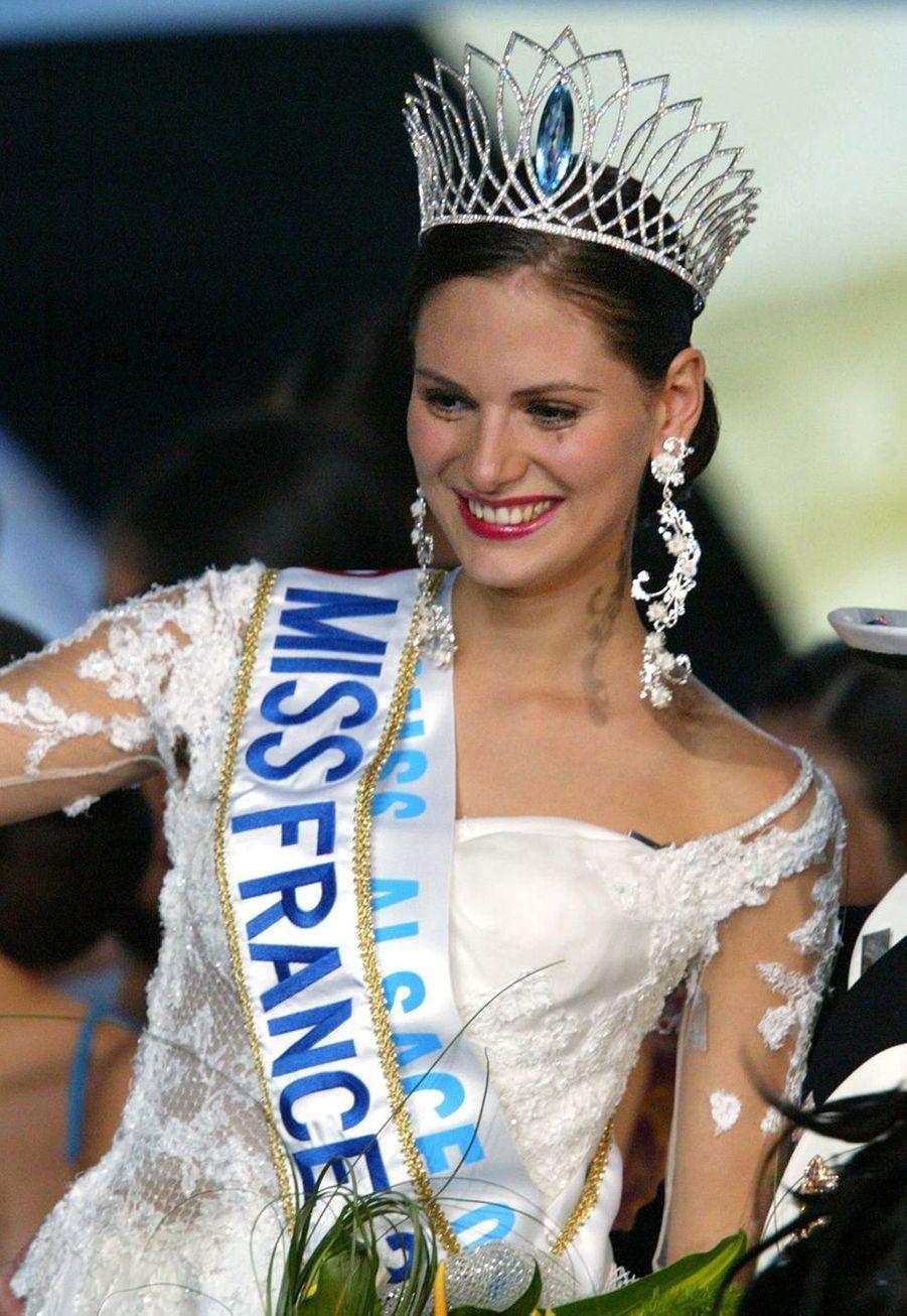 Laetitia Bléger, Miss France 2004