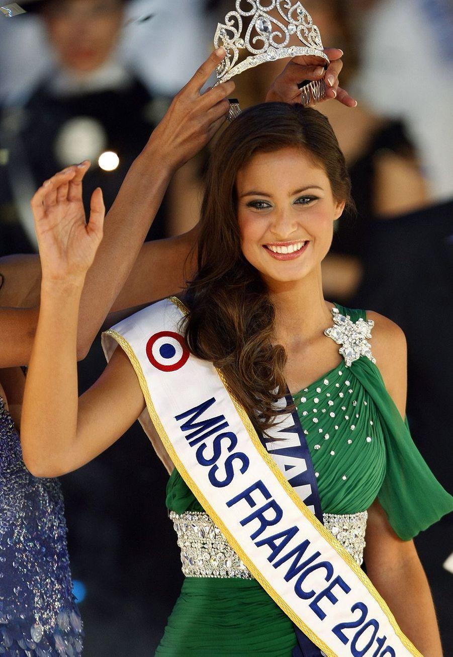 Malika Ménard, Miss France 2010