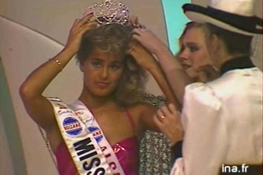 Nathalie Marquay, Miss France 1987