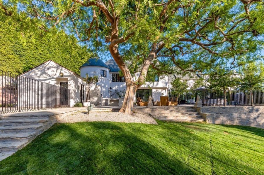 La villa d'Adam Levine à Beverly Hills