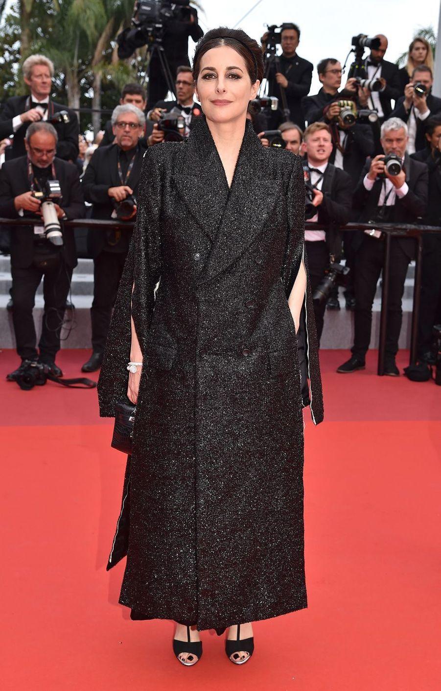 Amira Casar à Cannes, le 24 mai 2019