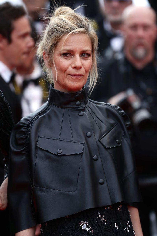 Marina Fois à Cannes, le 24 mai 2019