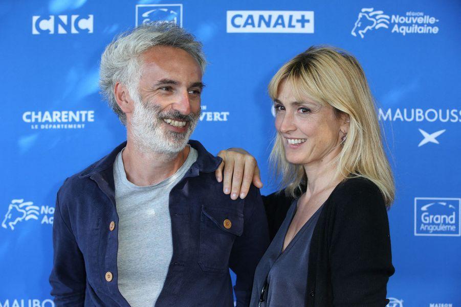 Vincent Delerm et Julie Gayet