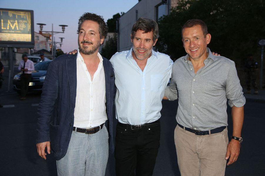 Guillaume Gallienne, Jalil Lespert et Dany Boon