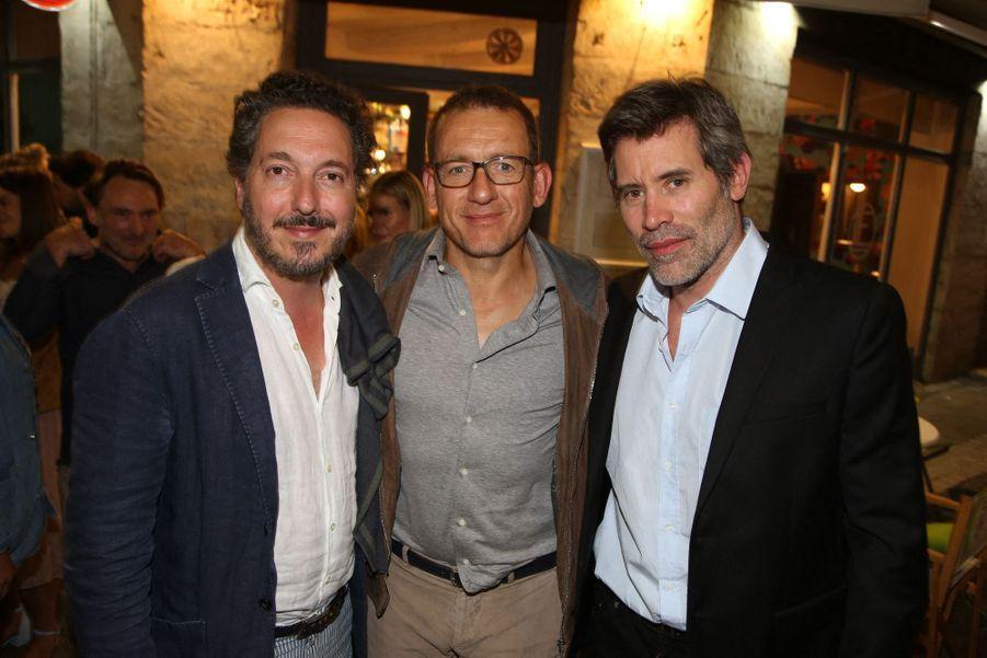 Guillaume Gallienne, Dany Boon et Jalil Lespert