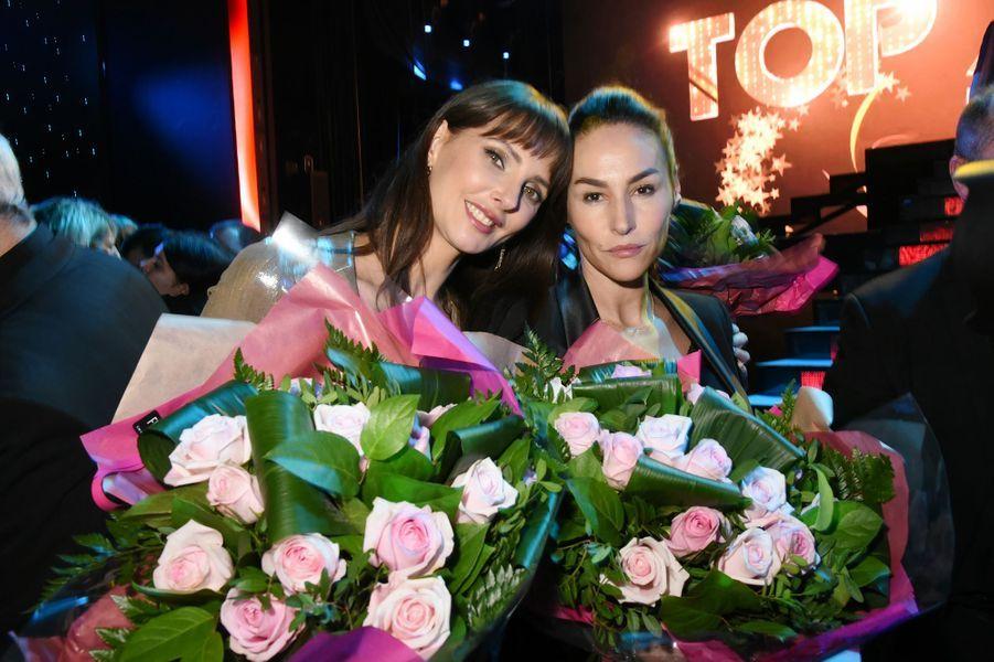 Frédérique Bel et Vanessa Demouy au Lido, le 21 janvier 2018.