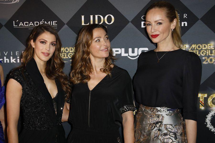 Iris Mittenaere, Sandrine Quétier et Adriana Karembeu