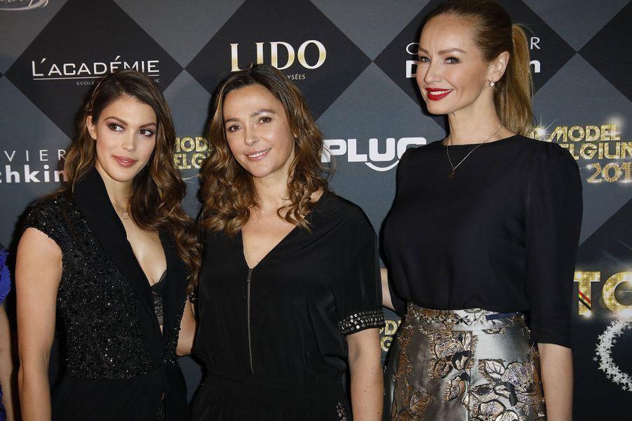 Iris Mittenaere,Sandrine Quétier et Adriana Karembeu