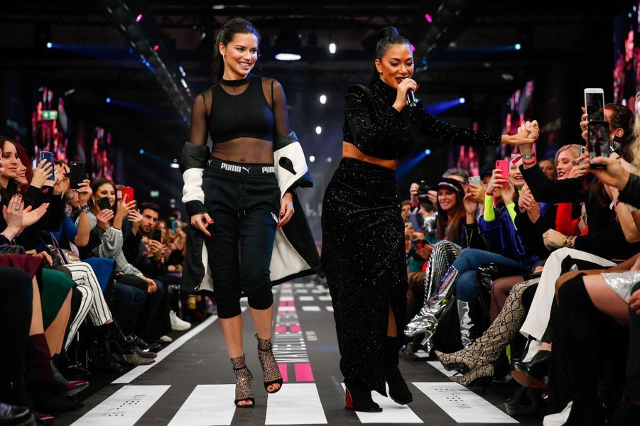 Adriana Lima et Nicole Scherzinger