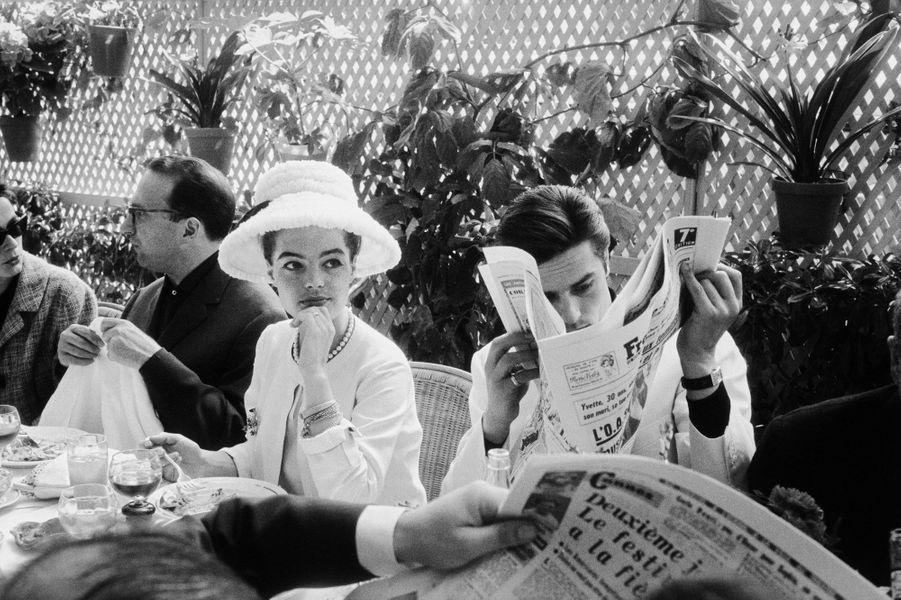 """Les clichés visibles à l'exposition """"Romy Schneider et Alain Delon : les amants magnifiques"""" à la Galerie de l'instant, du22 mars au 7 juin 2017"""