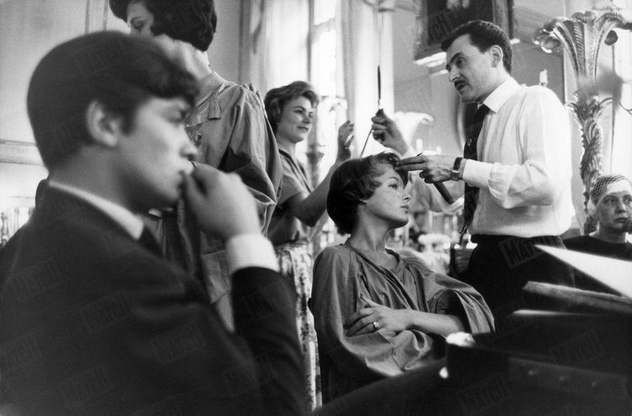 Alain Delon Romy Schneider Photos 1958 Rendez Vous 11