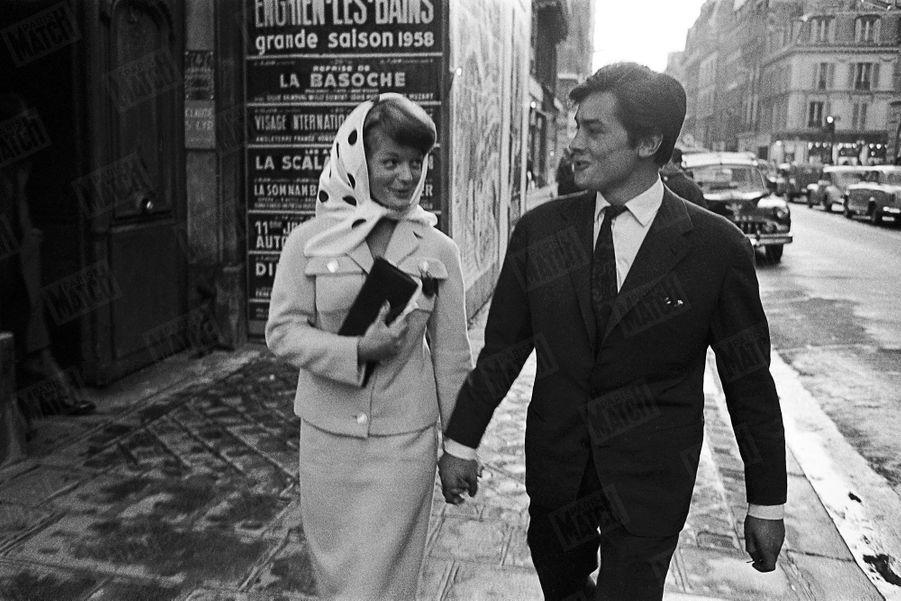 Alain Delon Romy Schneider Photos 1958 Rendez Vous 2