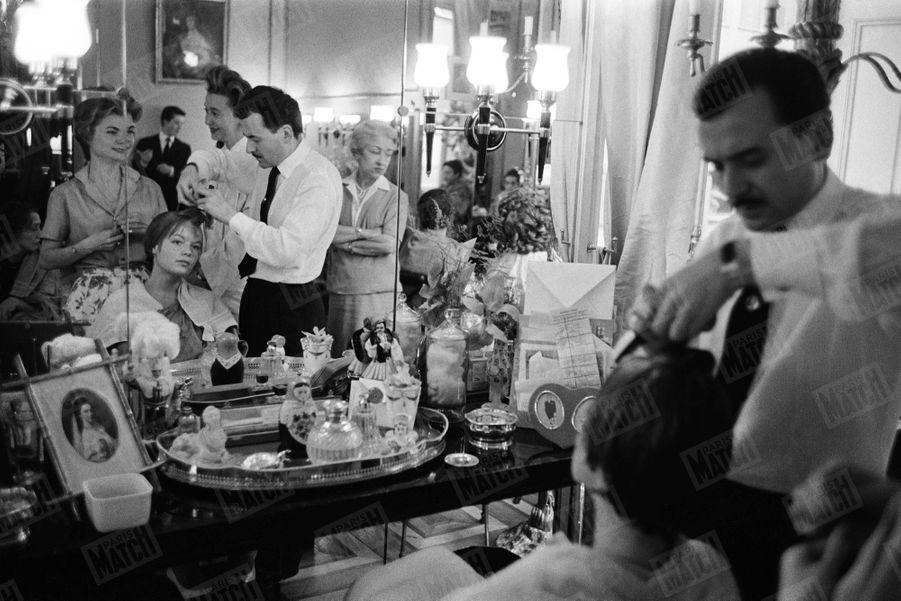 Alain Delon Romy Schneider Photos 1958 Rendez Vous 3