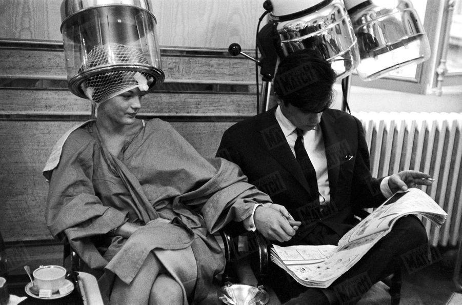 Alain Delon Romy Schneider Photos 1958 Rendez Vous 6
