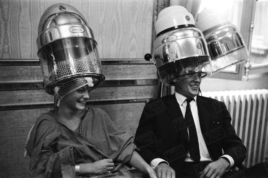 Alain Delon Romy Schneider Photos 1958 Rendez Vous 8