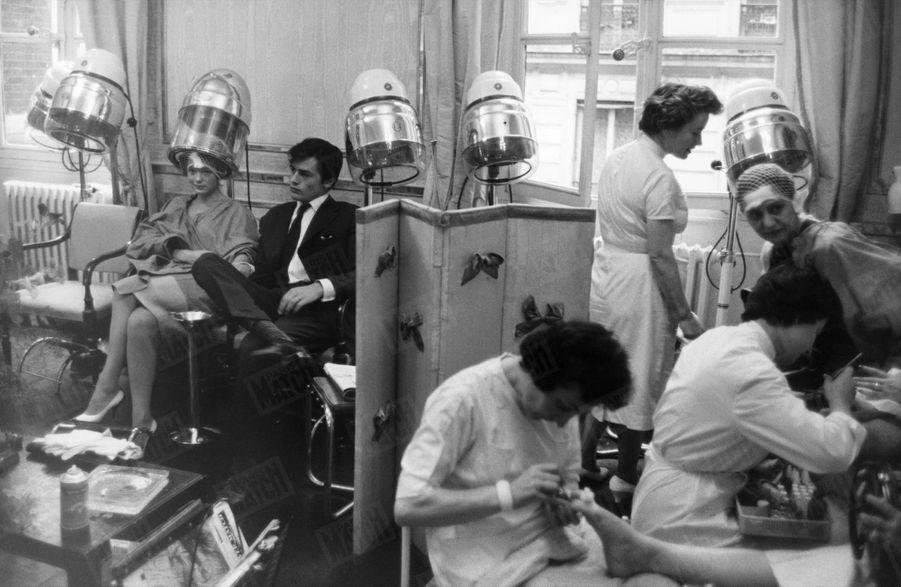 Alain Delon Romy Schneider Photos 1958 Rendez Vous 9