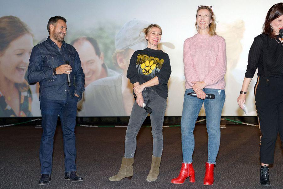 Alexandra Lamy, Anne Marivin et José Garcia à Lille, le 21 mars 2019