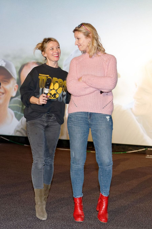 Alexandra Lamy et Anne Marivin à Lille, le 21 mars 2019