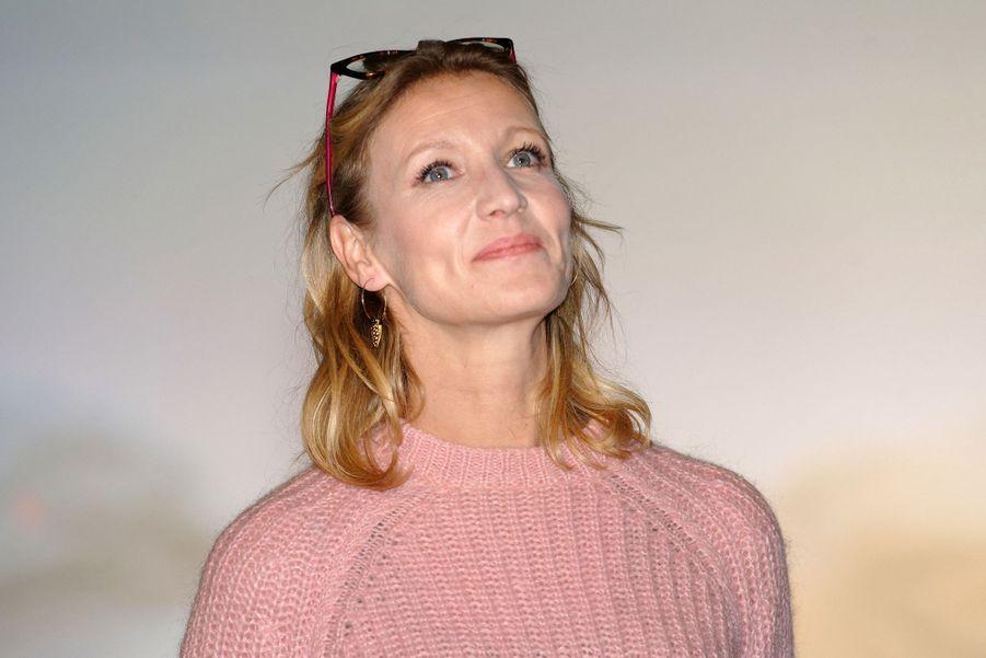Alexandra Lamy à Lille, le 21 mars 2019