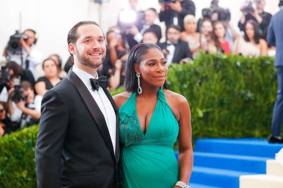Alexis Ohanian et Serena Williams en mai 2017