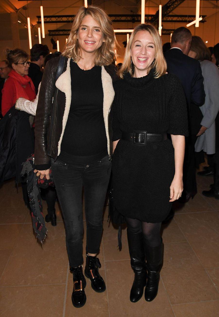 Alice Taglioni et Ludivine Sagnier lors desBold Woman Awards à Paris le jeudi 14 novembre2019.