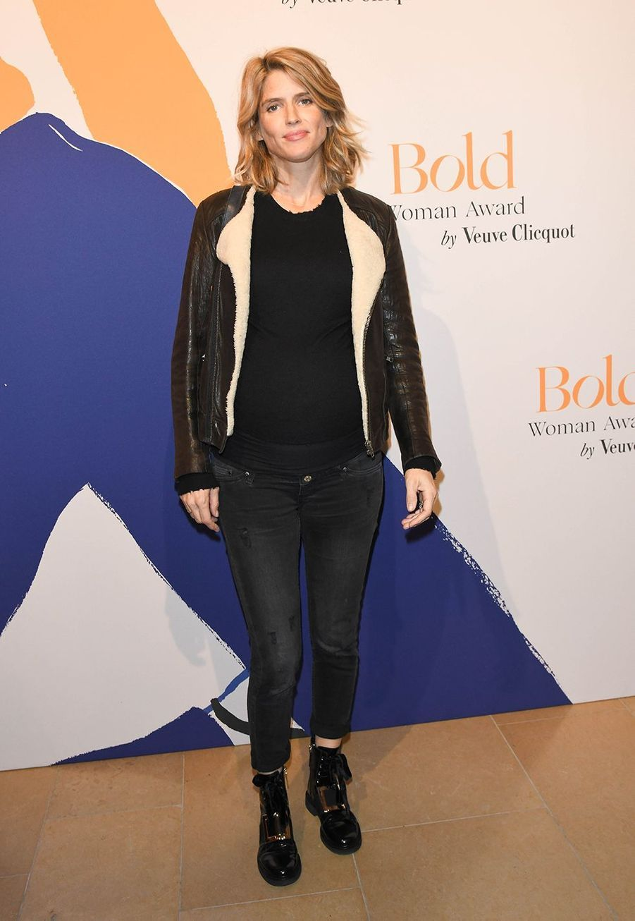 Alice Taglionilors desBold Woman Awards à Paris le jeudi 14 novembre2019.