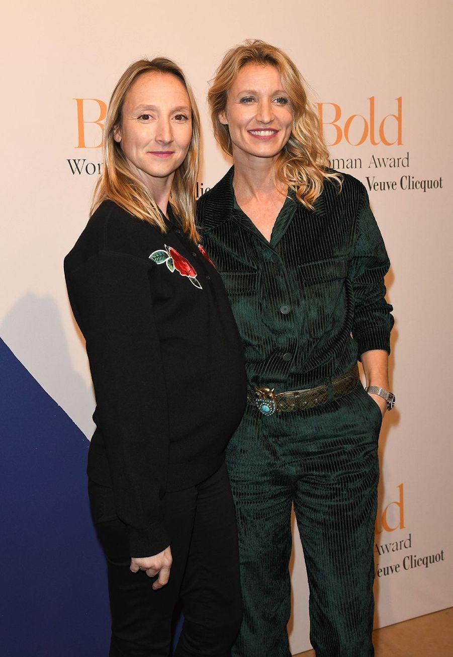 Audrey et Alexandra Lamylors desBold Woman Awards à Paris le jeudi 14 novembre2019.