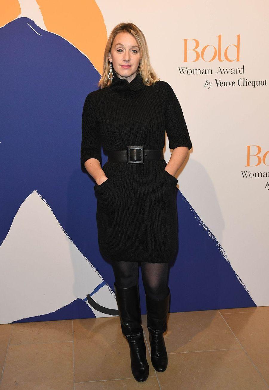 Ludivine Sagnierlors desBold Woman Awards à Paris le jeudi 14 novembre2019.
