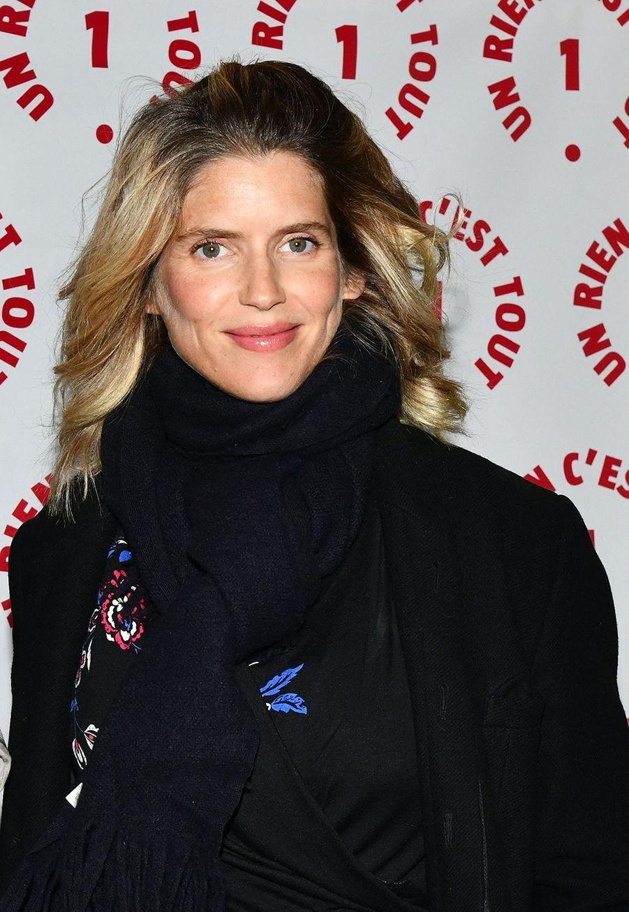 Alice Taglioniau dîner caritatif donné en faveur des actions de l'association Un Rien C'est Tout au musée Rodin à Paris le 19 septembre 2019