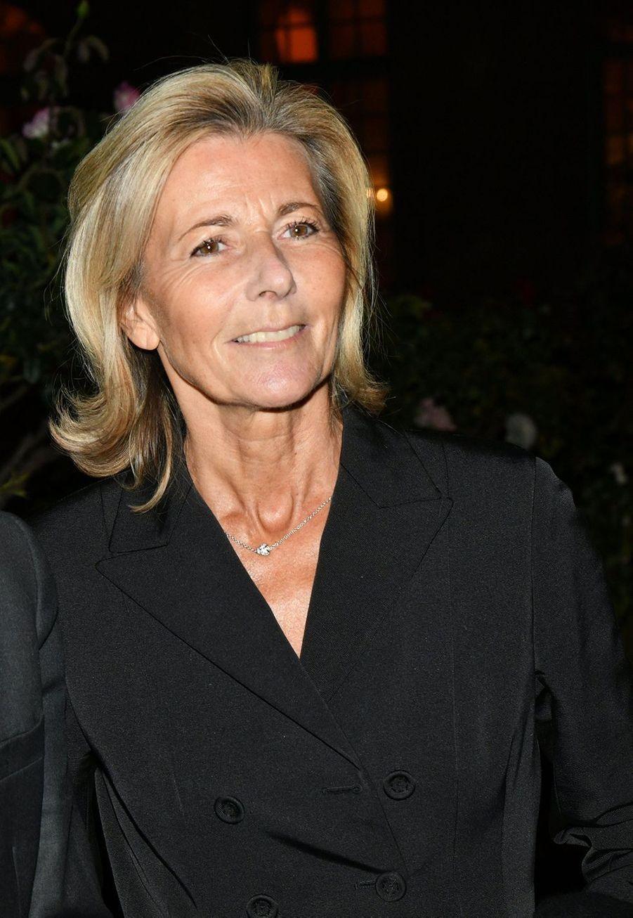 Claire Chazalau dîner caritatif donné en faveur des actions de l'association Un Rien C'est Tout au musée Rodin à Paris le 19 septembre 2019