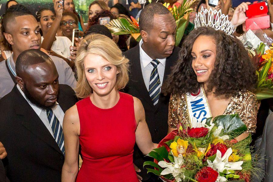 Alicia Aylies a grandi en Guyane