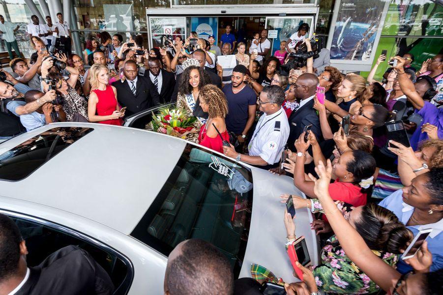 Alicia Aylies a fait un retour triomphal en Guyane