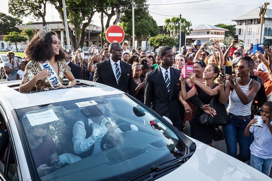 Alicia Aylies a été élue Miss France le 17 décembre dernier