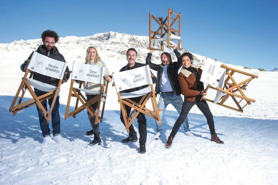 Le producteur-réalisateur Nicolas Benamou, l'actrice Chloé Jouannet, le DJ Bob Sinclar et la comédienne Sabrina Ouazani composent le jury présidé par José Garcia