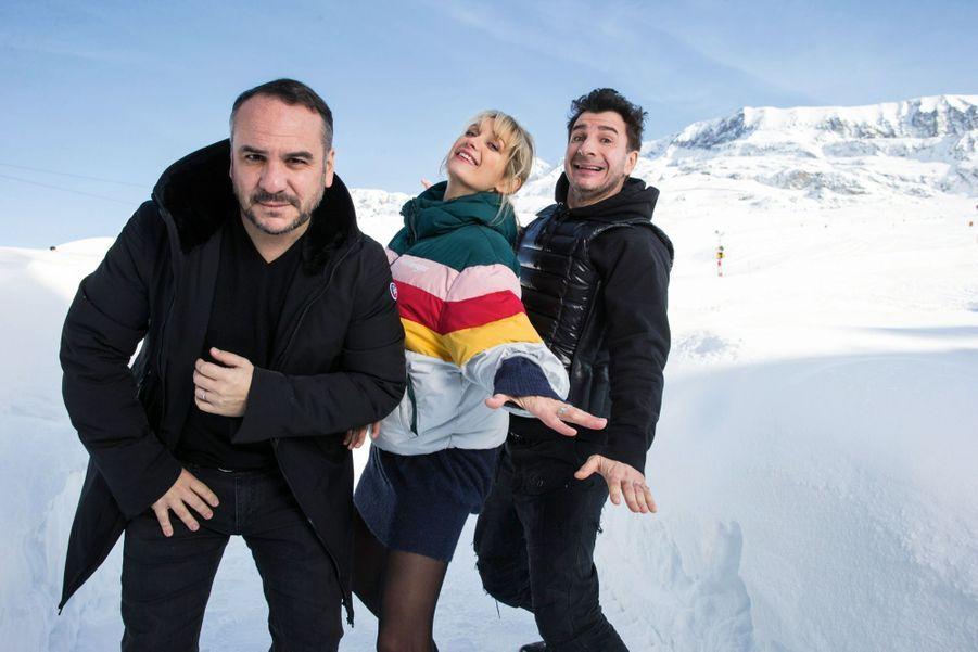 François-Xavier Demaison et Caroline Anglade jouent dans « Divorce club », de Michaël Youn (à dr.).